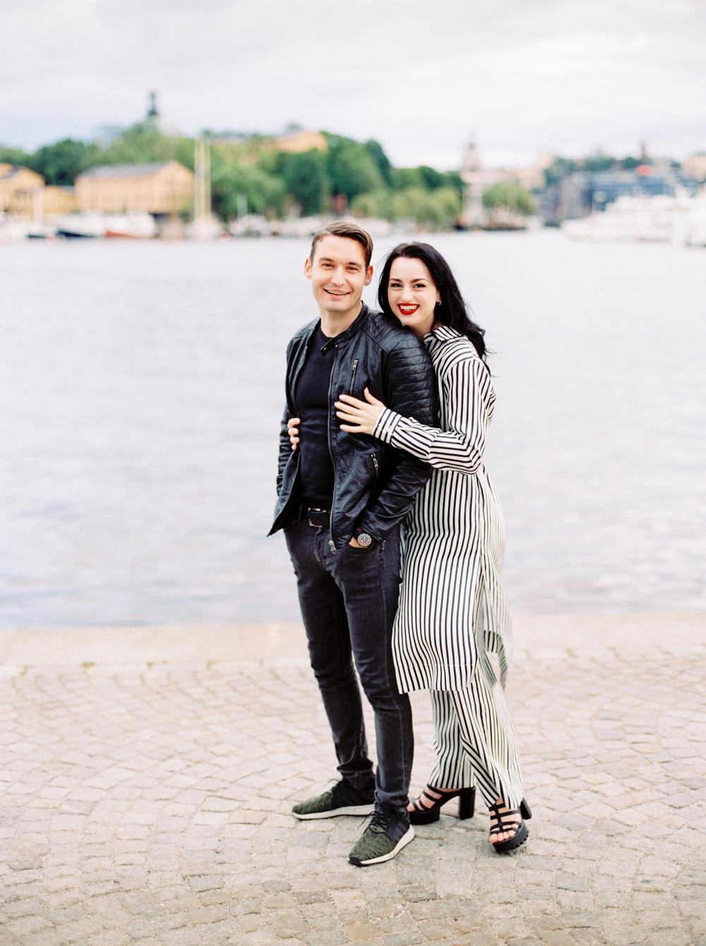 Плёночный фотограф в Стокгольме