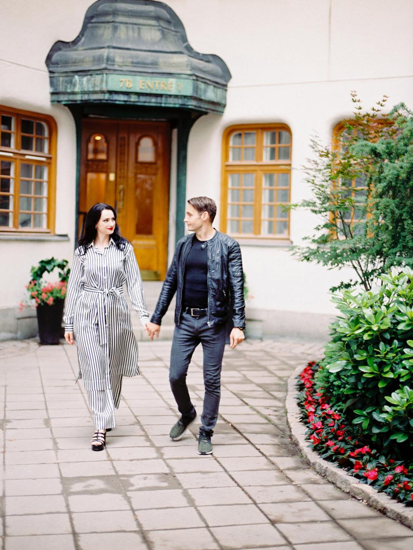 Прогулочная фотосессия в Стокгольме