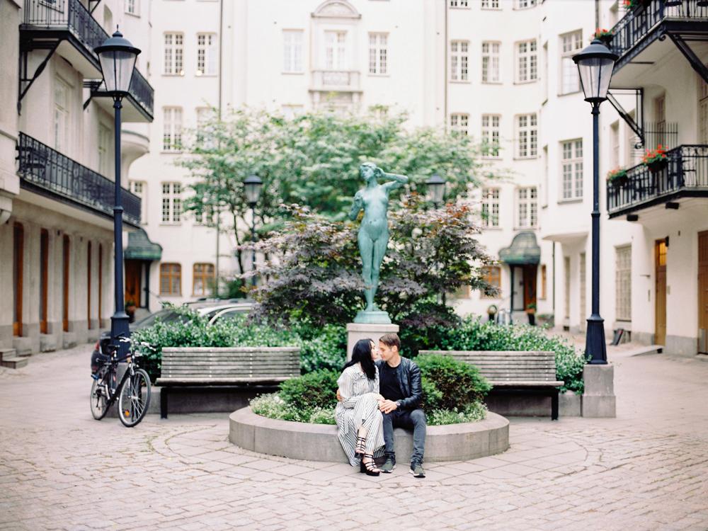 Прогулочная фотосессия в Копенгагене