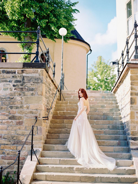 Свадебный плёночный фотограф в Стокгольме Швеция
