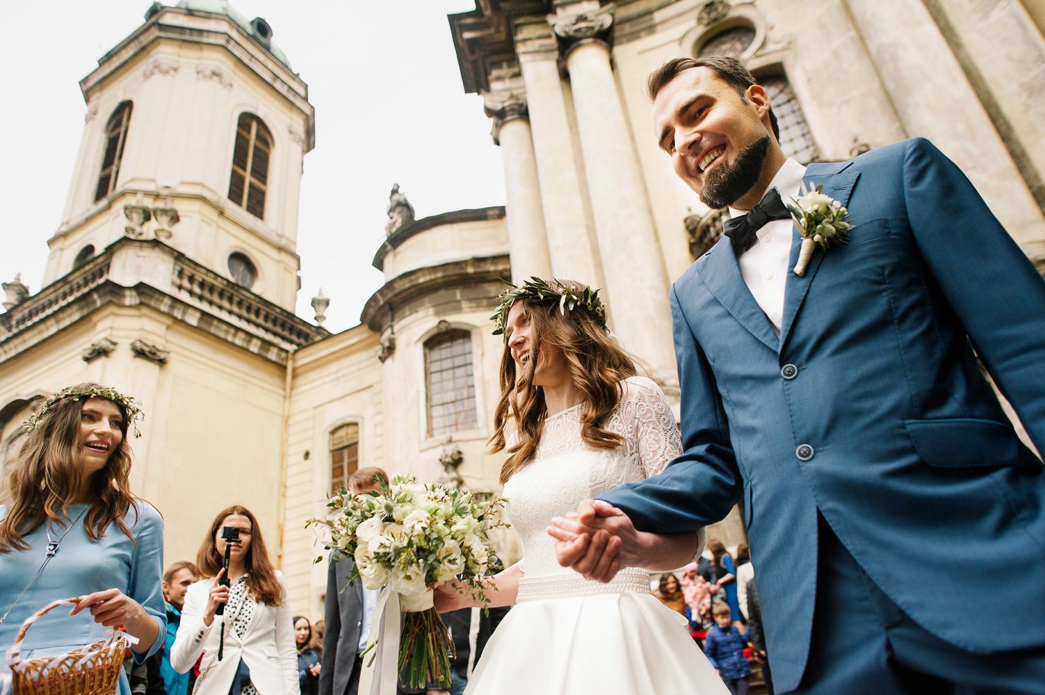 Домініканський собор Львів, вінчання, весілля