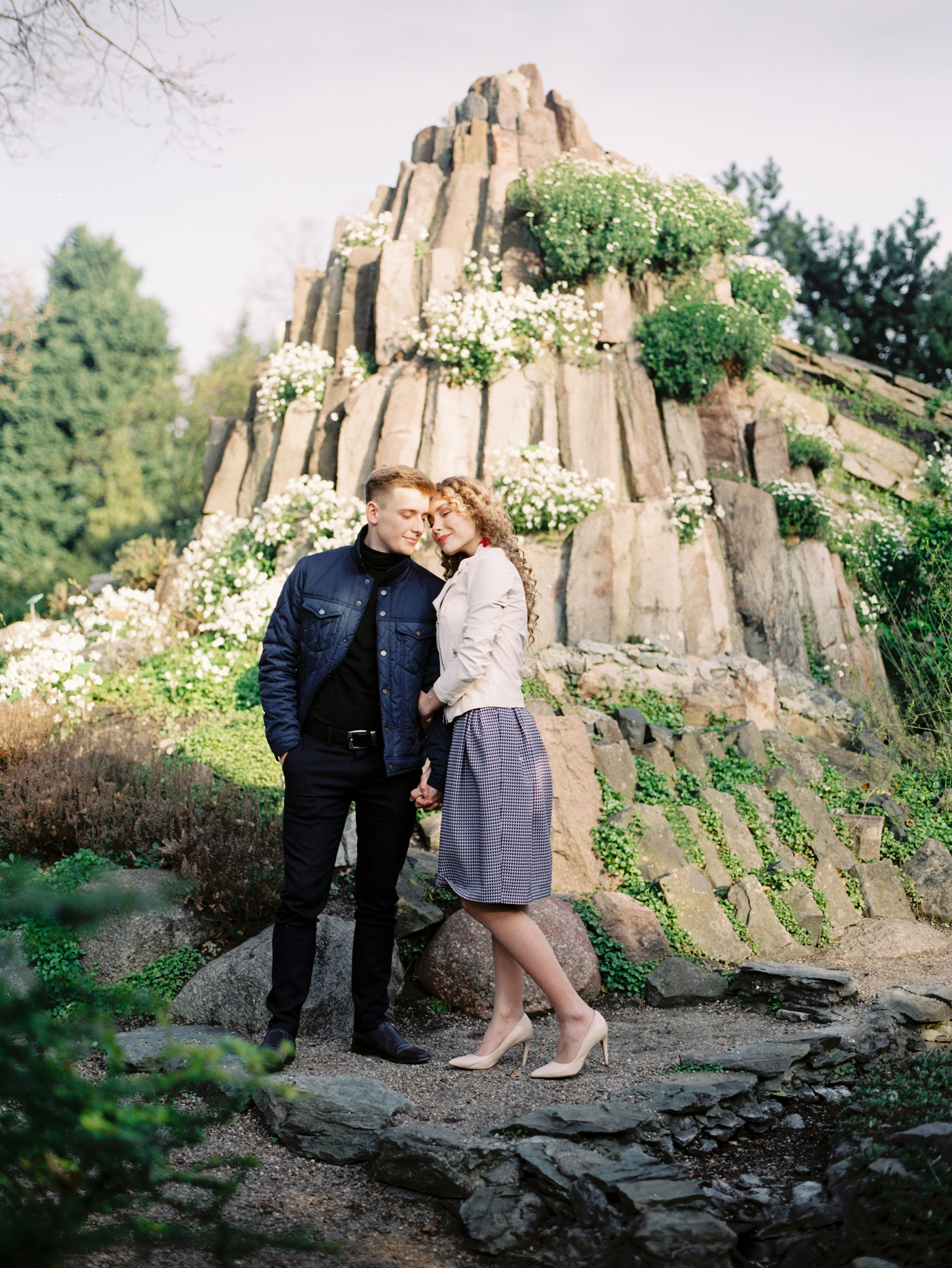 Engagement fine art film photographer in Wroclaw, Poland
