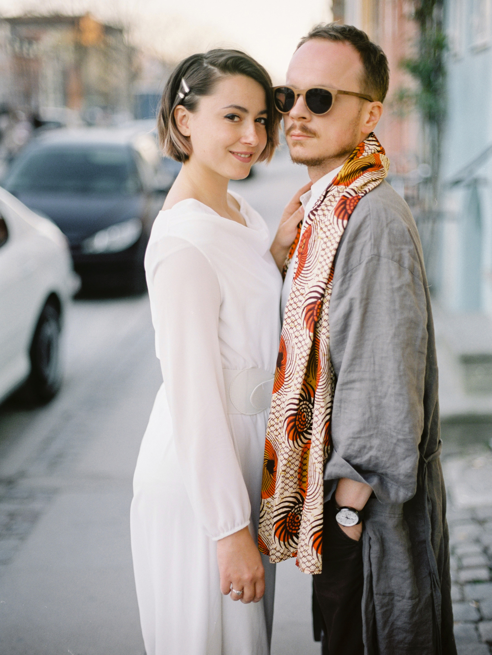 Copenhagen stret fashion | Destination fine art film photographet